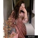 現貨優雅派對blingbling拼接珍珠邊絲絨洋裝 majimitty 12/11 10AM【全館免運】