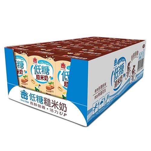 義美低糖糙米奶250ml*24【愛買】