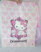 【震撼精品百貨】Charmmy Kitty_寵物貓 ~ 防水購物細繩束袋『愛心』