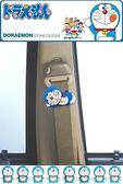 車之嚴選汽車用品【DR-32】日本 哆啦A夢 小叮噹 Doraemon 睡姿圖案 安全帶鬆緊扣 固定夾