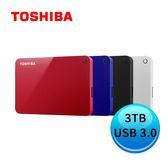 TOSHIBA Canvio Advance V9 3TB 2.5吋行動硬碟