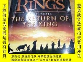 二手書博民逛書店THE罕見LORD OF THE RINGS (THE RETU