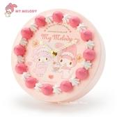日本限定 三麗鷗 美樂蒂 草莓蛋糕造型 壁掛時鐘 / 立式時鐘 / 掛鐘