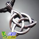 [美國直購 ShopUSA] Celtic Knot Triquetra Trinity Pewter Pendant with 20 Choker Necklace PP#234 $506