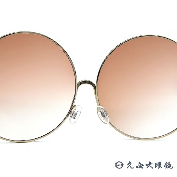 SPEKTRE 太陽眼鏡 SHANGHAI (金) 孫芸芸配戴款 時尚大圓框 墨鏡 久必大眼鏡