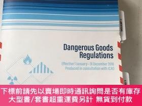 二手書博民逛書店IATA罕見)Dangerous Goods Regulations Effective 1 January-31