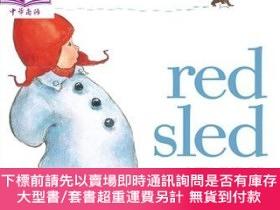 二手書博民逛書店罕見原版 紅雪橇 RedSled 紙板書 低幼童書 0~3歲 親子繪本 名Y454646 Judge Lit