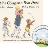 『鬆聽出英語力/廖彩杏書單--第20週』- WE'RE GOING ON A BEAR HUNT /書+CD 《主題:經典押韻》(JY版)
