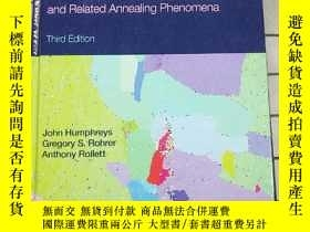二手書博民逛書店Recrystallization罕見and Related Annealing Ph... 進口原版 Y26
