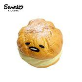 【日本正版】蛋黃哥 泡芙 捏捏吊飾 捏捏樂 軟軟 Squishy gudetama 三麗鷗 Sanrio - 628466