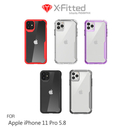 【愛瘋潮】X-Fitted Apple iPhone 11 Pro (5.8吋) 防摔保護套 TPU邊框+PC透明背板