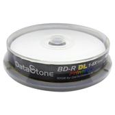 ◆限量下殺!!免運費◆DataStone 超A+ 藍光 Blu-ray 6X BD-R DL 50GB 珍珠白滿版可印片 10P布丁桶X1