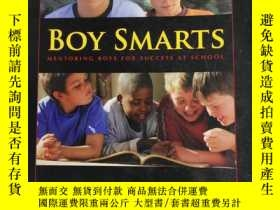 二手書博民逛書店Boy罕見Smarts : Mentoring Boys for Success at School 聰明男孩:指