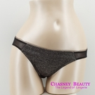 Chasney Beauty-Shine素雅S-M三角褲(亮黑)