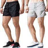 【年終大促】運動短褲男跑步速干三分褲寬鬆休閒沙灘褲男士健身3分短褲夏潮男