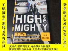 二手書博民逛書店HIGH罕見AND MIGHTY, SUVS-THE WORLD