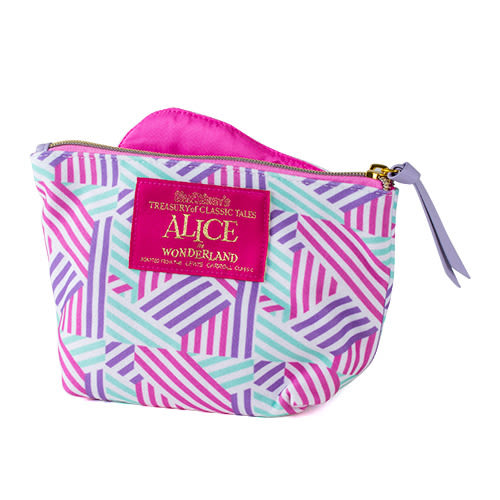 《SHO-BI》愛麗絲造型化妝包(幾何條紋)★funbox生活用品★_SB04133
