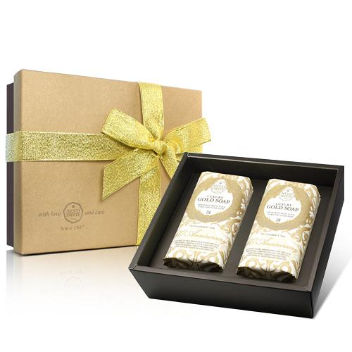 Nesti Dante  義大利手工皂-經典黃金皂禮盒(250g×2入)【ZZshopping購物網】
