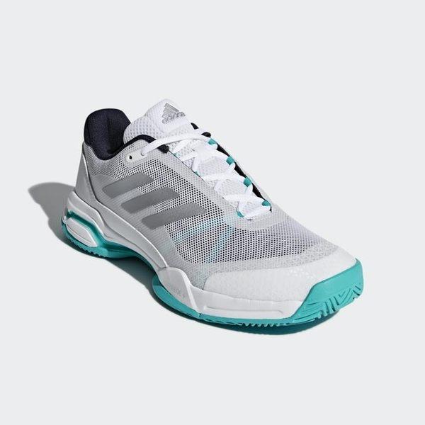 樂買網 ADIDAS 18FW 中階款 男網球鞋 Barricade Club系列 紅土 AH2085 贈MIT壓縮腿套