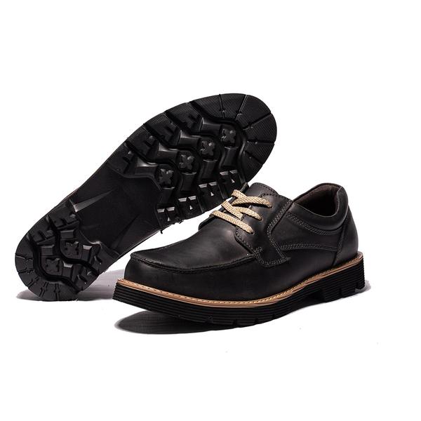 Waltz-經典綁帶男休閒鞋622182-02黑