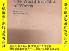 二手書博民逛書店The罕見World in a List of Words【詞彙