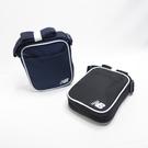 New Balance 休閒款 側肩背包 LAB91023- 2色 黑/藍【iSport愛運動】