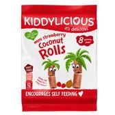 Kiddylicous 童之味 迷你草莓椰子卷 (12個月以上)
