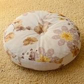 坐墊加厚圓形布藝日式榻榻米打坐墊【聚寶屋】