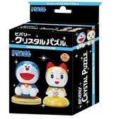 哆啦A夢&哆啦美 /57P/Beverly/哆啦A夢/立體透明塑膠/日本進口拼圖