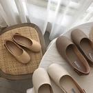 豆豆鞋平底鞋媽媽鞋懶人鞋一腳蹬休閒鞋女鞋 衣普菈