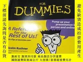 二手書博民逛書店Presentations罕見For Dummies 97807