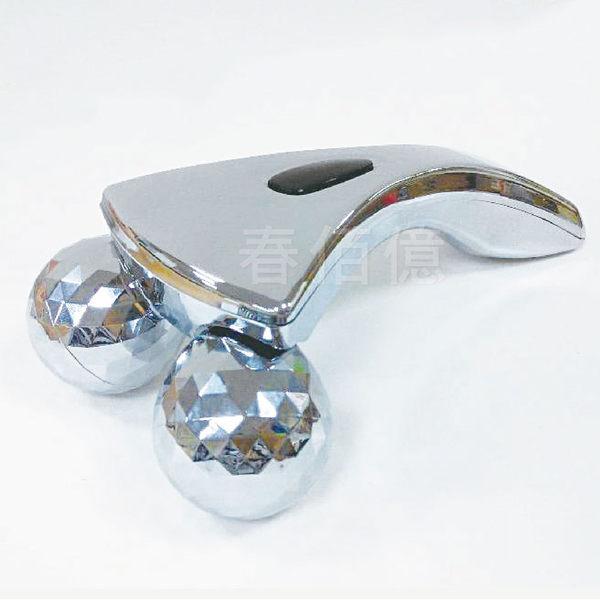 鉑麗星 3D美體滾輪按摩儀(1入) 滾輪按摩器 身體按摩推輪 頸部按摩推棒 擬人手捏感推拿拉提