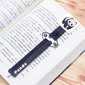 【歐士 OSHI】指標書籤筆 貓熊