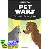 [106美國直購] 2017美國暢銷兒童書 Children s Book : Pets War: The Fight for Best Pet