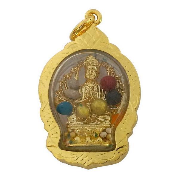 【十相自在】4.3公分 小佛像/法像 甘露/舍利佛龕掛墜吊飾(準提佛母)