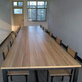 訂製        會議桌辦公桌簡約現代培訓職員老板辦公家具長桌電腦大桌子可拆卸igo     韓小姐