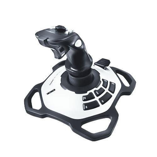 [哈GAME族]免運費 可刷卡 羅技 Logitech 閃靈鈦翼 二代 飛行搖桿 彎曲造型橡膠手把 適用模擬飛行