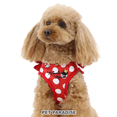 【PET PARADISE 寵物精品】DISNEY 米妮點點胸背帶【4S/3S】 寵物胸背帶