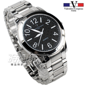 valentino coupeau 范倫鐵諾 都會風格數字錶 不鏽鋼 男錶/中性錶/學生錶 黑色 數字錶 石英錶 V61269黑