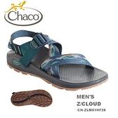【速捷戶外】美國 Chaco CH-ZLM01HF28 越野紓壓運動涼鞋-標準 男款(荒蕪海軍藍)  Z/CLOUD ,佳扣涼鞋