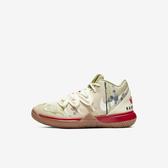 Nike Kyrie 5 Bandulu PS [CQ9341-100] 中童 籃球 運動 休閒 舒適 包覆 穿搭 米白
