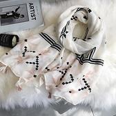 新款時尚棉質柔軟絲巾圍巾 文藝空調披肩 防曬披肩61