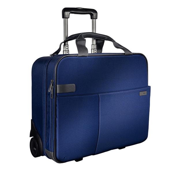 【LEITZ】6059-00-95 CARRY-ON 2輪行李箱 / 藍