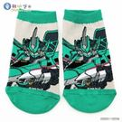 【加價購特惠】新幹線變形機器人 正版授權 兒童短筒襪 SK05-單雙1入