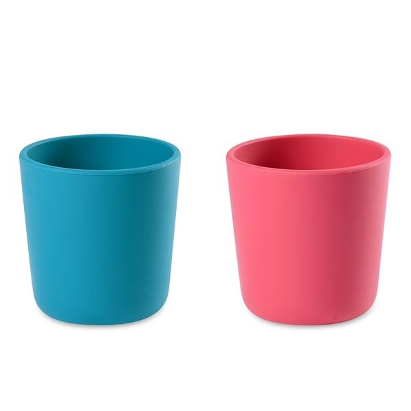 【奇哥】BEABA 寶寶矽膠學習杯(2色選擇)