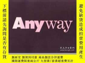 二手書博民逛書店罕見Anyway-不管怎樣Y436638 Cynthia Davidson Rizzoli, 1994 ISB