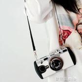 相機保護套 創意照相機美圖T8手機殼m6s掛繩斜跨軟殼M8s個性女款保護套掛脖潮 歐萊爾藝術館