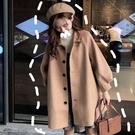 毛呢外套 秋冬流行韓版小個子 女復古港味寬鬆學生百搭日系大衣顯瘦 店慶降價