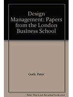 二手書博民逛書店《Design management : papers from the London Business School》 R2Y ISBN:1854541536