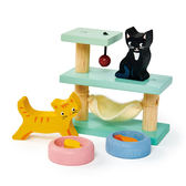 【美國Tender Leaf Toys】寵物貓咪爬架(娃娃屋配件)